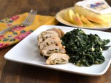 Apple & Brie Chicken Roulade