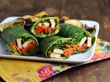Superbly Stuffed Collard Wraps