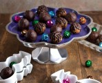 cacao mint truffles