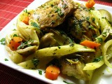 PPS: North-African Spiced Chicken with Spring Vegetables