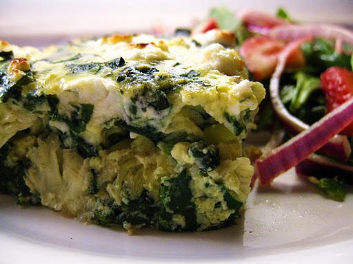 Cara's Cravings » PPS: Spinach & Artichoke Frittata