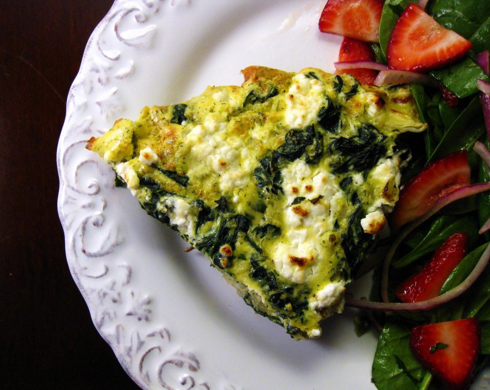 Artichoke And Spinach Frittata Recipes — Dishmaps