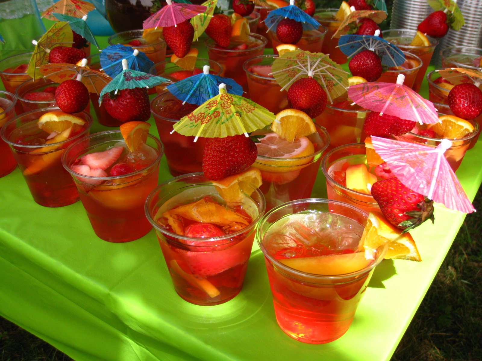 Cara's Cravings » Tropical Bridal Shower