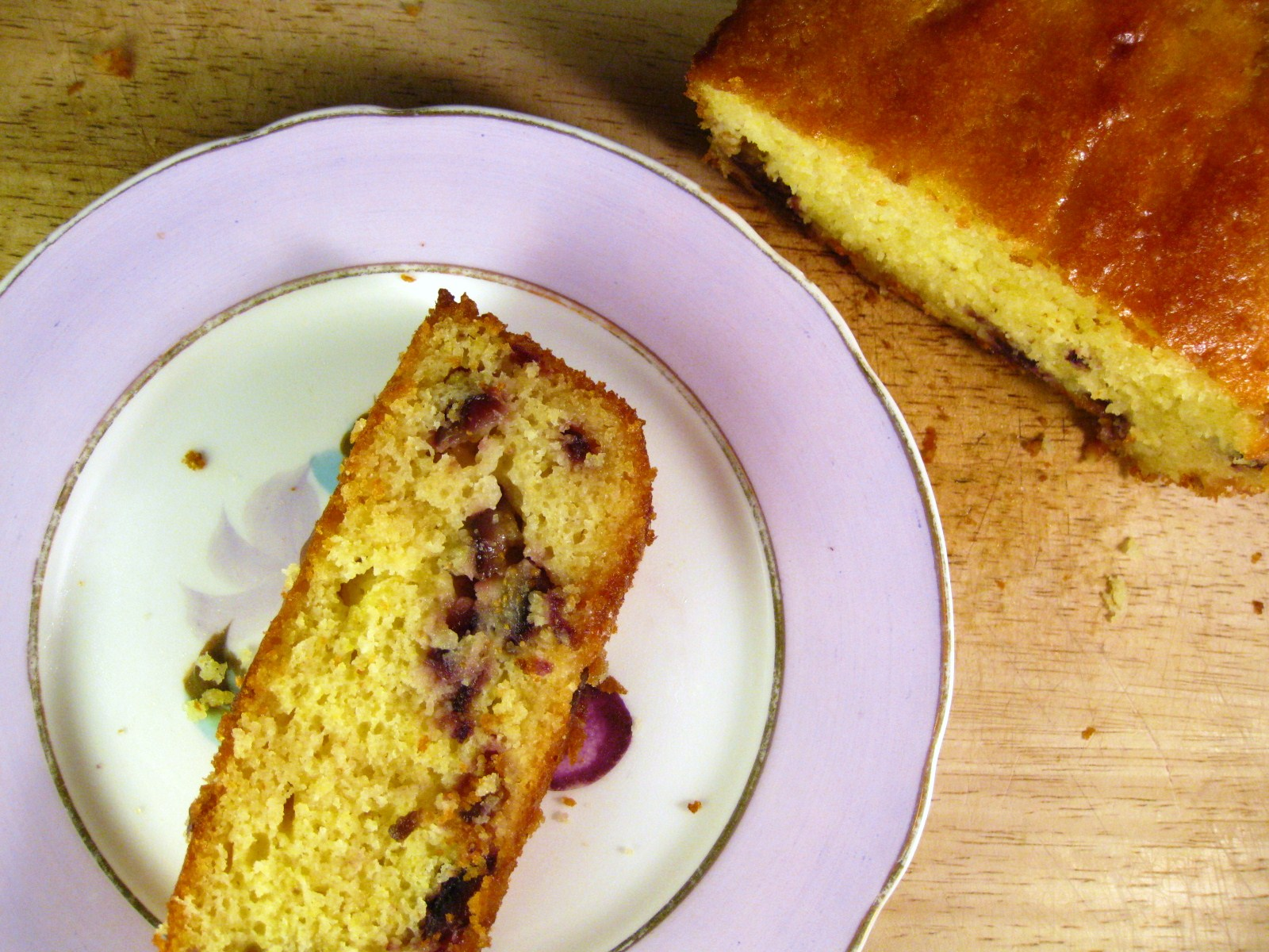 Cara's Cravings » Fresh Fig and Polenta Cake with Honey ...