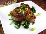 Pomegranate-Chili Glazed Tuna