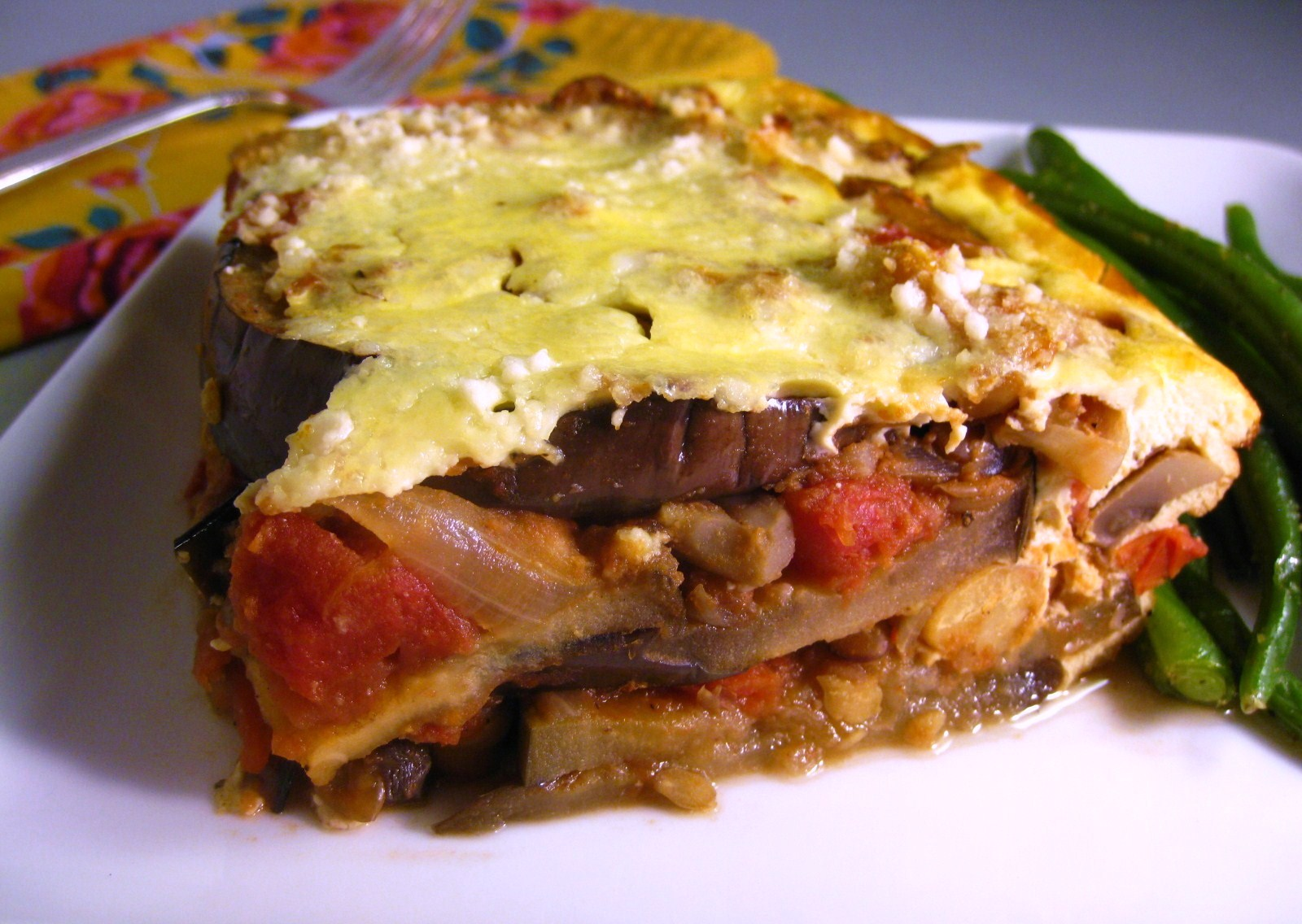 Cara's Cravings » Lentil & Eggplant Moussaka