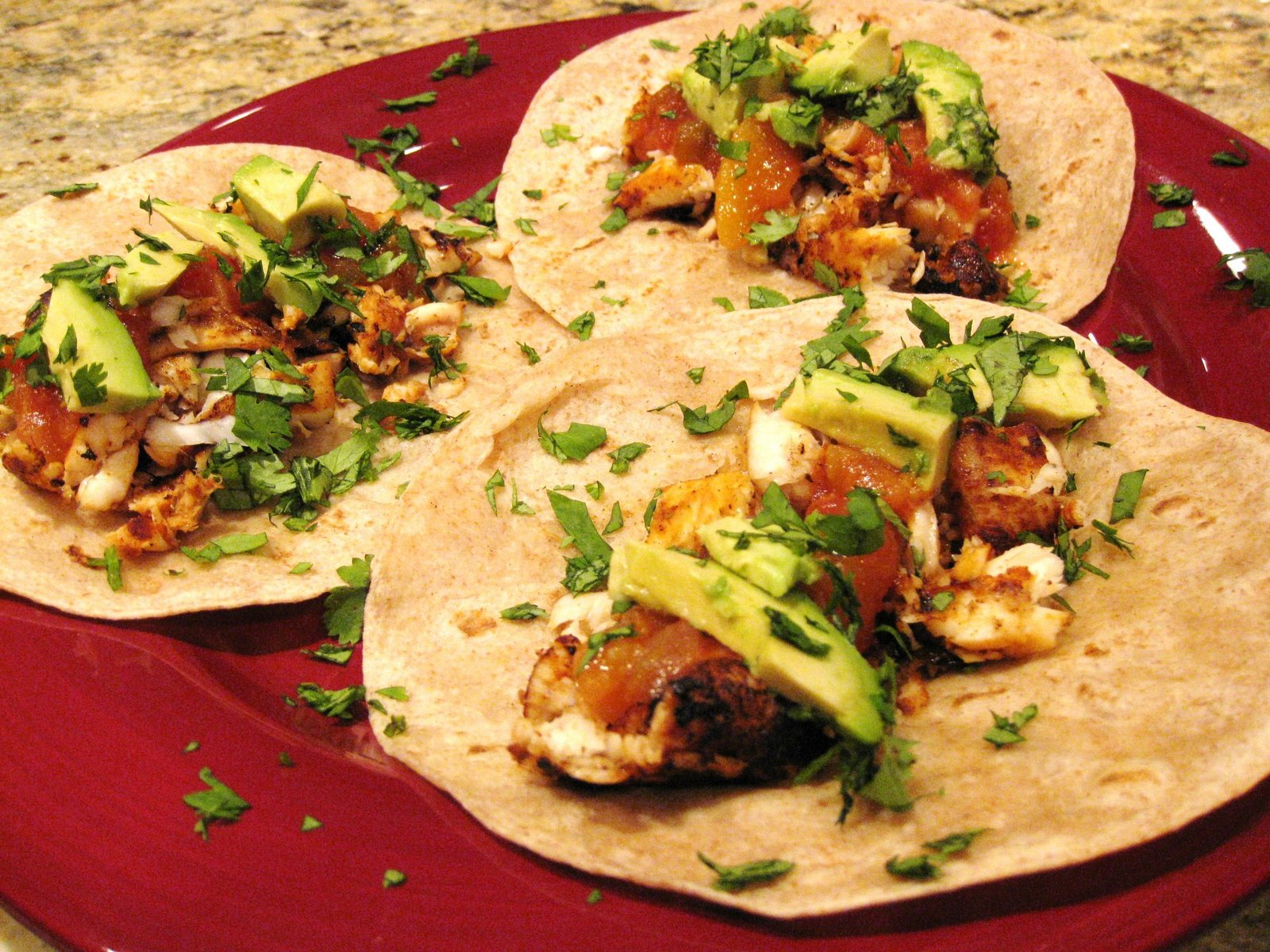 tilapia fish tacos recipe dishmaps