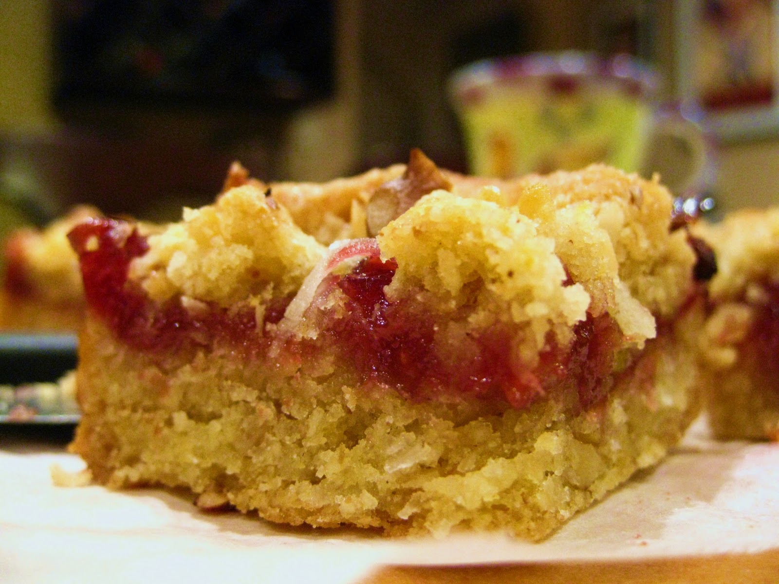 Cara's Cravings » Passover Prep Series: Grandma's Raspberry Squares