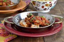 Cinnamon-Spiced Fish Tagine with Raisins and Capers