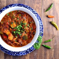 thai chicken chili, butternut squash chicken chili