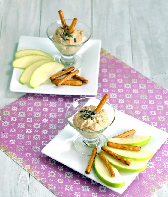 vegan cookie dough dip, American Heart Month,