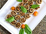 Mushroom Pesto Pinwheels