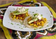 tofu scramble, vegan huevos rancheros, hearty vegan meals for monster appetites