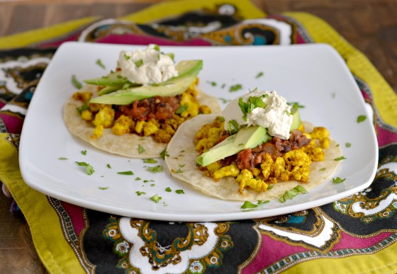 tofu scramble, vegan huevos rancheros, hearty vegan meals for monster appetites