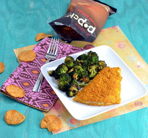 sweet potato pop chips, potato chip fish