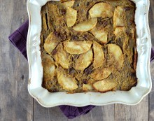 spaghetti squash apple kugel