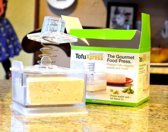 tofuxpress, press tofu quickly