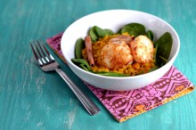 carrot quinoa risotto