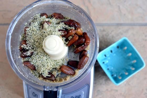 vegan protein bars, homemade lara bars, gluten-free protein bars, hemp seed protein bars