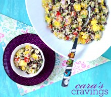 Black Bean Mango Quinoa Salad
