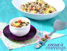 Black Bean Mango Quinoa Salad 3 logo