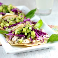 Melon Mojito Fish Tacos 2