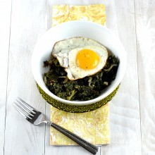 Spicy Coconut Braised Kale