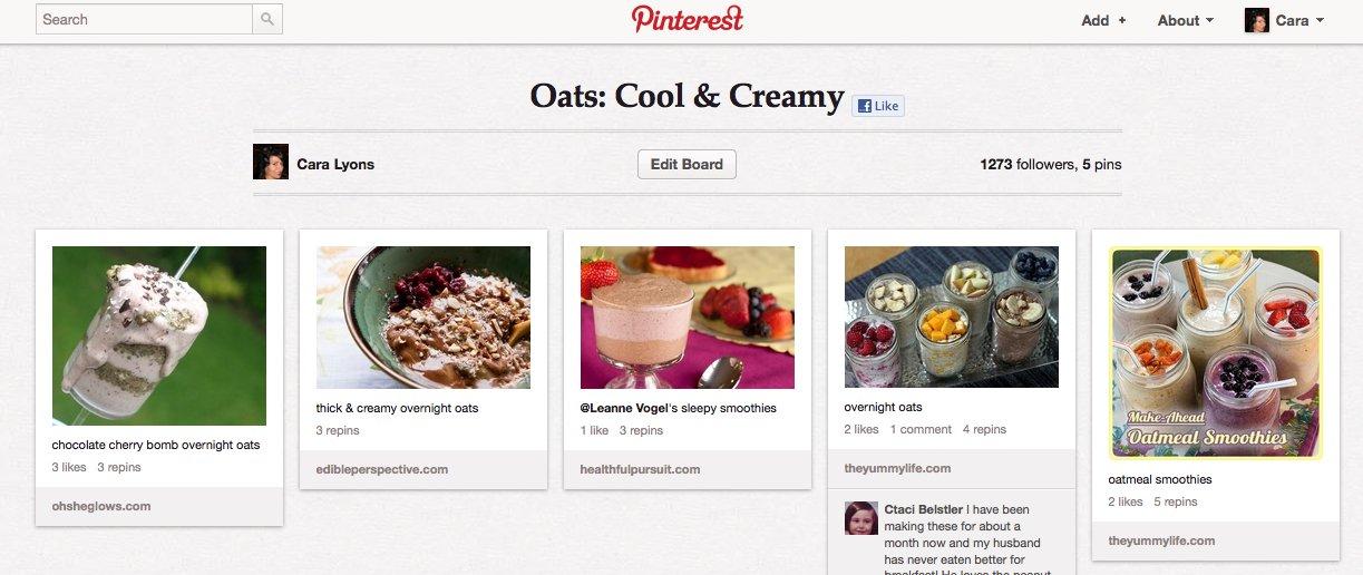 Cara's Cravings » Recipe for Blueberry Banana Oatmeal Sundaes