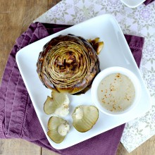 whole roasted artichokes, lyon artichoke