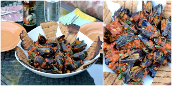 Grilled Mussels With Mango Curry Sauce Recipes — Dishmaps