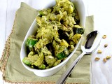 zucchini artichokes pesto 1