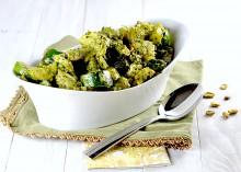 zucchini artichokes pesto 2