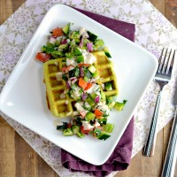 Chickpea Waffles 1