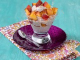 Oatmeal-Chia Peach Parfait 2