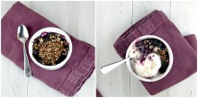 blueberry chia crisp