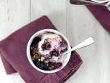 blueberry crisp 1