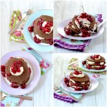 cherry bomb pancakes