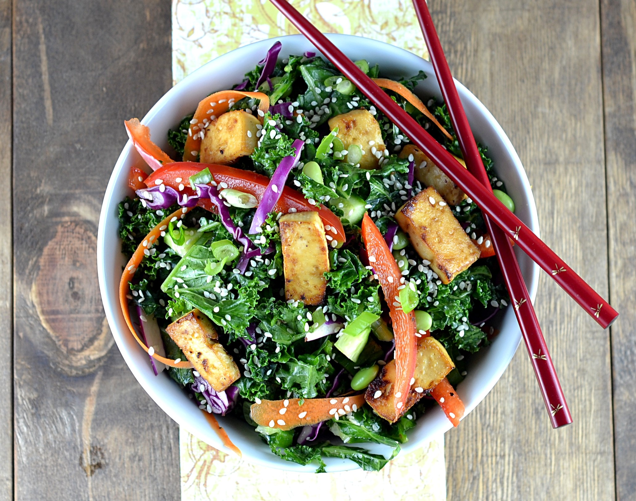 Asian Kale Salad 2