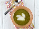Kale & Apple Soup @Cara's Cravings