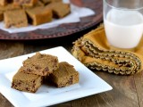 Sweet Potato Chocolate Chip Blondies 2 - Cara&#039;s Cravings