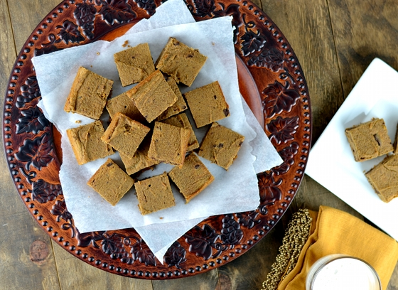 sweet potato blondies, sweet potato brownies, sweet potato bars, baking with coconut flour, coconut flour pumpkin bars, low carb pumpkin bars, low carb sweet potato,