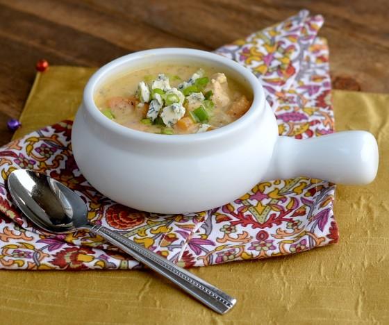 buffalo chicken soup, buffalo chicken chowder, buffalo chicken chili, buffalo chicken sweet potato, silken tofu soup, creamy soup with tofu,