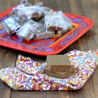 Gingerbread Cookie Dough Protein Bars @Cara's Cravings 3