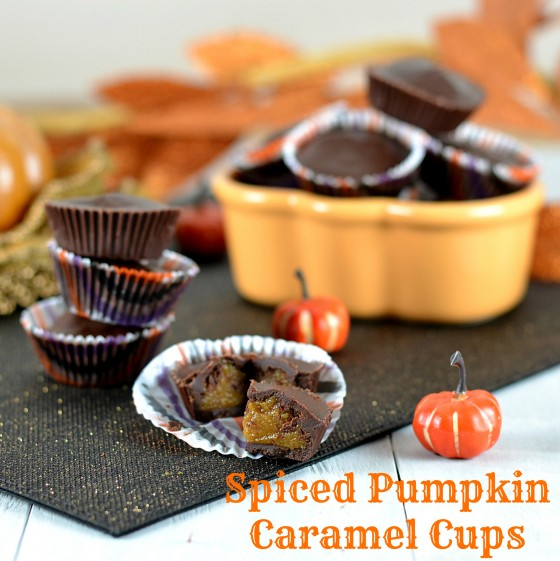 pumpkin caramel, xylitol chocolate, xylitol peanut butter cups, homemade peanut butter cups, homemade caramel cups, muffin liner peanut butter cups, gluten free candy, gluten free halloween recipes, vegan halloween recipes, dairy free chocolate, dairy free caramel cups, vegan caramel cups, dairy free halloween candy