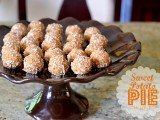 Sweet Potato Pie Truffles @Cara's Cravings