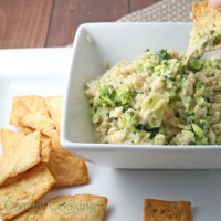 Vegan Broccoli Cheese Dip