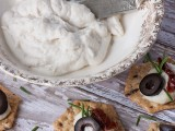 Macadamia Ricotta Cheese Appetizer