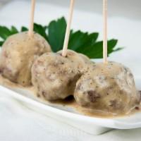 Gluten-Free, Dairy-Free Swedish Meatballs