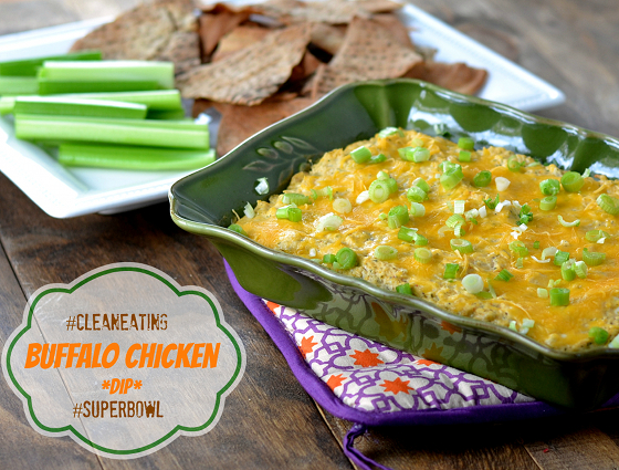CLEAN Buffalo Chicken CRACK DIP @carascravings