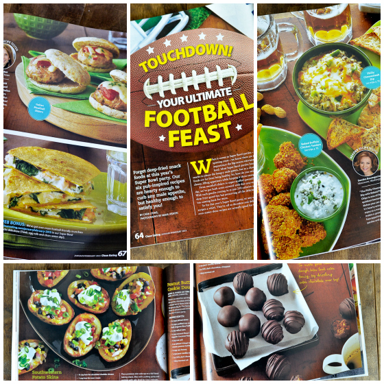 Clean Eating Magazine Superbowl by Cara Lyons @Carascravings